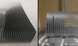 【扩大铝应用】广亚铝业研发出新型铲齿铝合金散热器