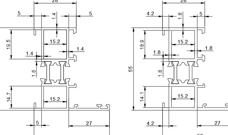 浅谈门窗铝型材壁厚执行新标对铝行业的影响