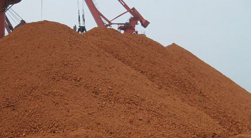 1月底中国进口铝土矿库存量环比减少1.74%