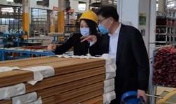 四会市政协主席欧爱民等领导莅临广东高登铝业集团调研复工复产作业