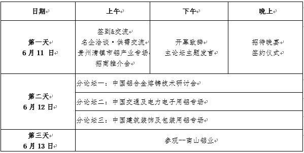 【会议信息】2020(第十五届)中国国际铝加工峰会