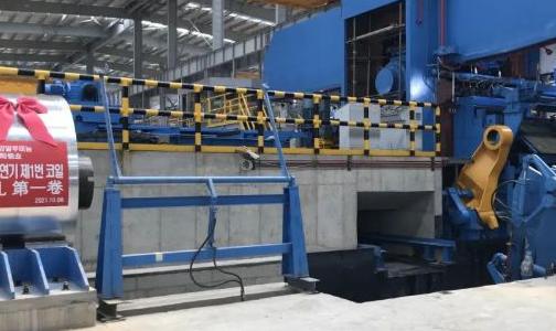 明泰铝业子公司韩国光阳铝业冷轧机成功穿带