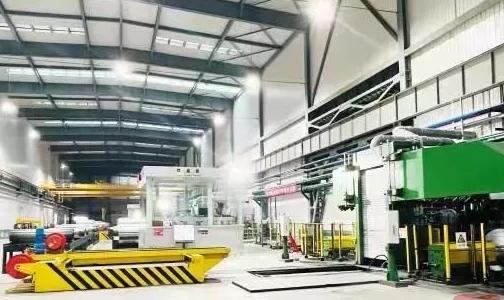 动力电池箔新产线重磅投产 加速布局新能源材料