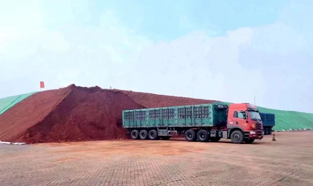 华兴铝业开始使用中铝几内亚博法矿