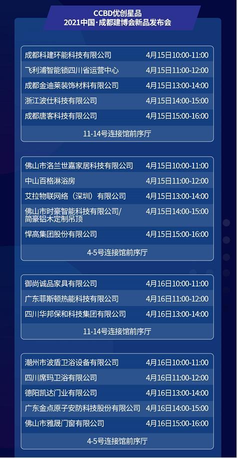 30+活动,五大主题,众多大咖齐聚2021中国成都建博会!