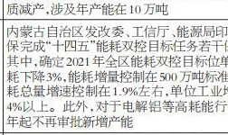 年内国内电解铝新增产能面临不确定性