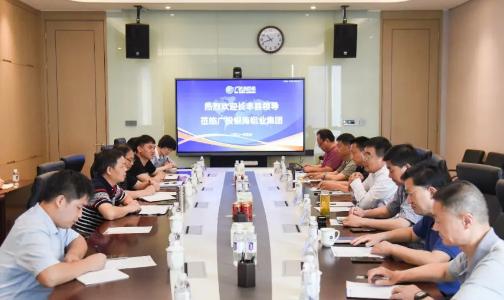 安徽长丰县领导前往广投银海铝业集团考察调研