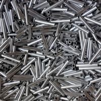 6063小铝管 6063t6铝管 空心6063铝合金管 零切加工