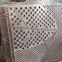 微孔树形透光铝板-艺术穿孔铝板定做