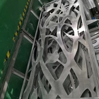艺术墙穿孔铝板-树形镂空铝板定制