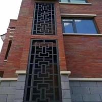 方管无缝焊接装饰美观防盗耐用 中式美观铝窗花
