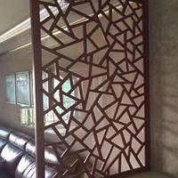 旅游景区中式铝窗花 方管焊接打磨仿古窗花