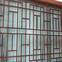 别墅中式铝花格 仿古铝窗花中式艺术风格