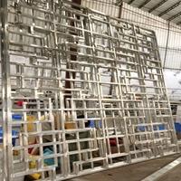铝管直销厂家 匠铝设计定制打样铝窗花