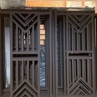 铝方管开模定制厂家 匠铝出品的中式铝窗花