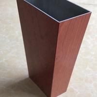 6063铝方管 木纹铝方管 6063矩形管 国标优质6063铝方管