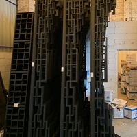青海乡村荷花池改造铝合金护栏厂家供应