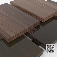 商城立面木纹铝单板装饰