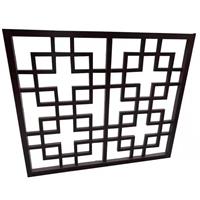 镂空铝花格-中式仿古铝花格