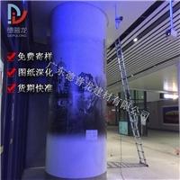 江门站候车厅包柱3D打印铝单板