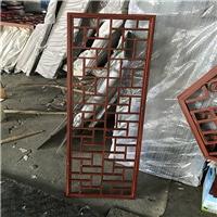 方管烧焊铝花-中式铝合金花格定做