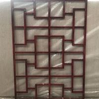 加工仿古铝通花-方管烧焊铝通花设计