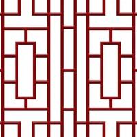 红橡木防盗铝窗花-中式铝合金花格