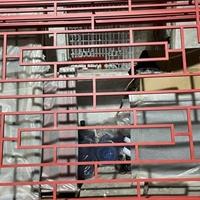简单造型铝格栅厂家-防火铝花格