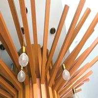 商场用哪些铝方通装饰 商场木纹铝方通销售
