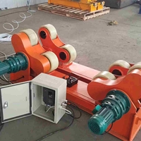 40吨可调式滚轮架 焊接滚轮支架 罐体焊接滚轮架 焊接滚轮架