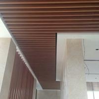 重庆弧型铝方通  型材方通报价 普通木纹铝方通