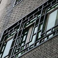 别墅楼铝窗花-防盗铝窗花