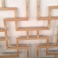 复古铝花格 热转印木纹铝花格生产
