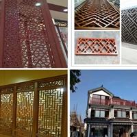 珠海铝合金窗花-仿古木纹铝花格-厂家质量可靠
