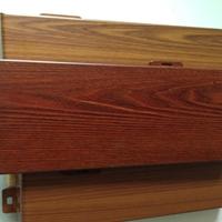 大堂装饰热转印木纹铝单板