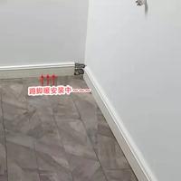 银屋踢脚板采暖 水道壁厚3.6mm的铝合金办公室写字楼供暖