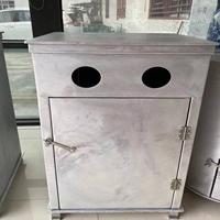 铝合金垃圾桶铝板 黑银 方型桶 圆桶生产厂
