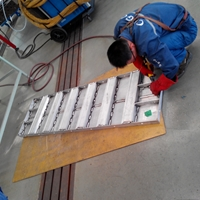 承揽6061铝模板焊接及冲孔代加工业务