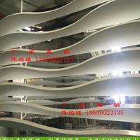 办公楼大厅吊顶弧形铝方通 铝方通厂家直供