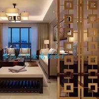 酒店装饰屏风 豪华装饰背景墙设计订做