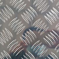 现货花纹铝板 五条筋铝板 防滑铝板