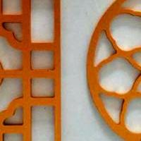 铝窗花厂家-木纹铝窗花多少钱一平方?