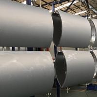 瓦楞状弧形铝单板定制  氟碳造型铝板