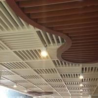 供应U型铝方通天花 木纹铝方通 规格任
