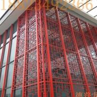 外墙装饰铝窗花防盗网_铝窗花厂家