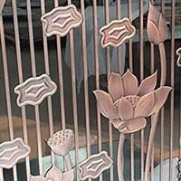 镂空艺术铝屏风有什么工艺,铝屏风厂价定制。