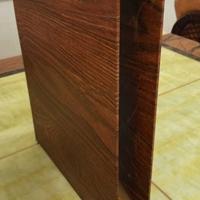手机店木纹铝方管-木纹铝方通-铝格栅吊顶