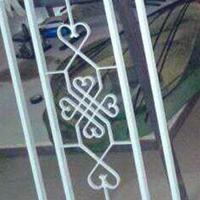 仿古鋁窗花-木紋鋁合金窗格-門頭鋁掛落