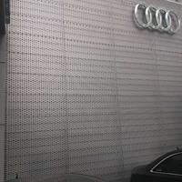外墙冲孔板-奥迪外墙装饰冲孔铝板十足辣眼