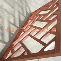 德普龙木纹铝窗花,供应各种精美款式